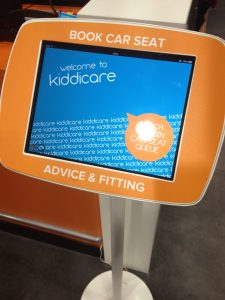 Kiddicare Order Pod - Car Seat fitting