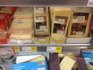 o2o on Cheese features new packaging and an enhanced range.