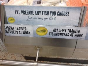 Fishmonger Academy Advertising