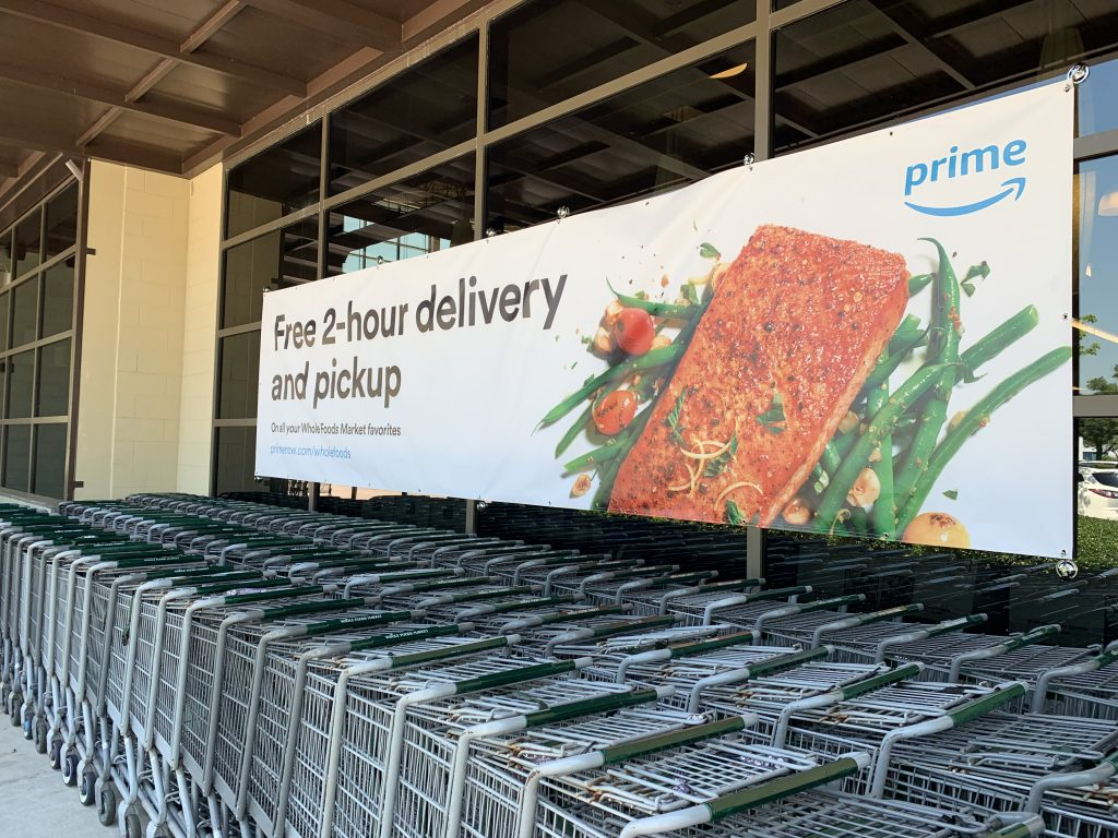 Whole Foods Prime delivery banner