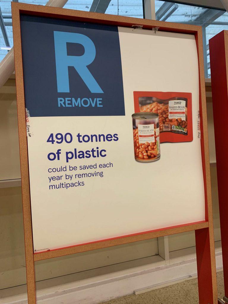 Reducing Plastic in Tesco Bar Hill