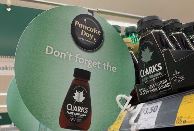 Pancake Day Sign