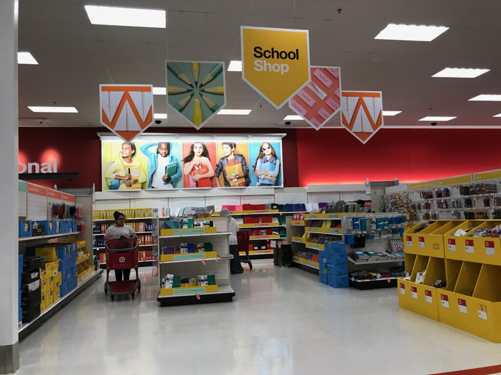 Retail Image of the Day Target Back to School