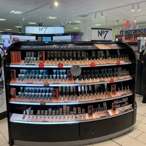 Boots Cosmetics Counter