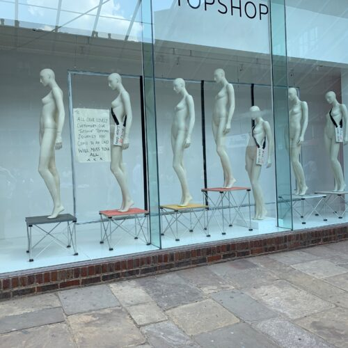 Topshop - Closed Down