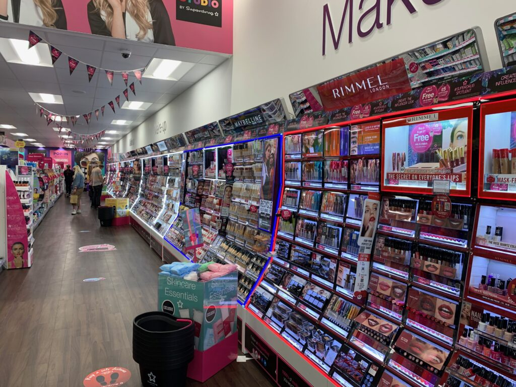 Retail image of the day Superdrug Cosmetics