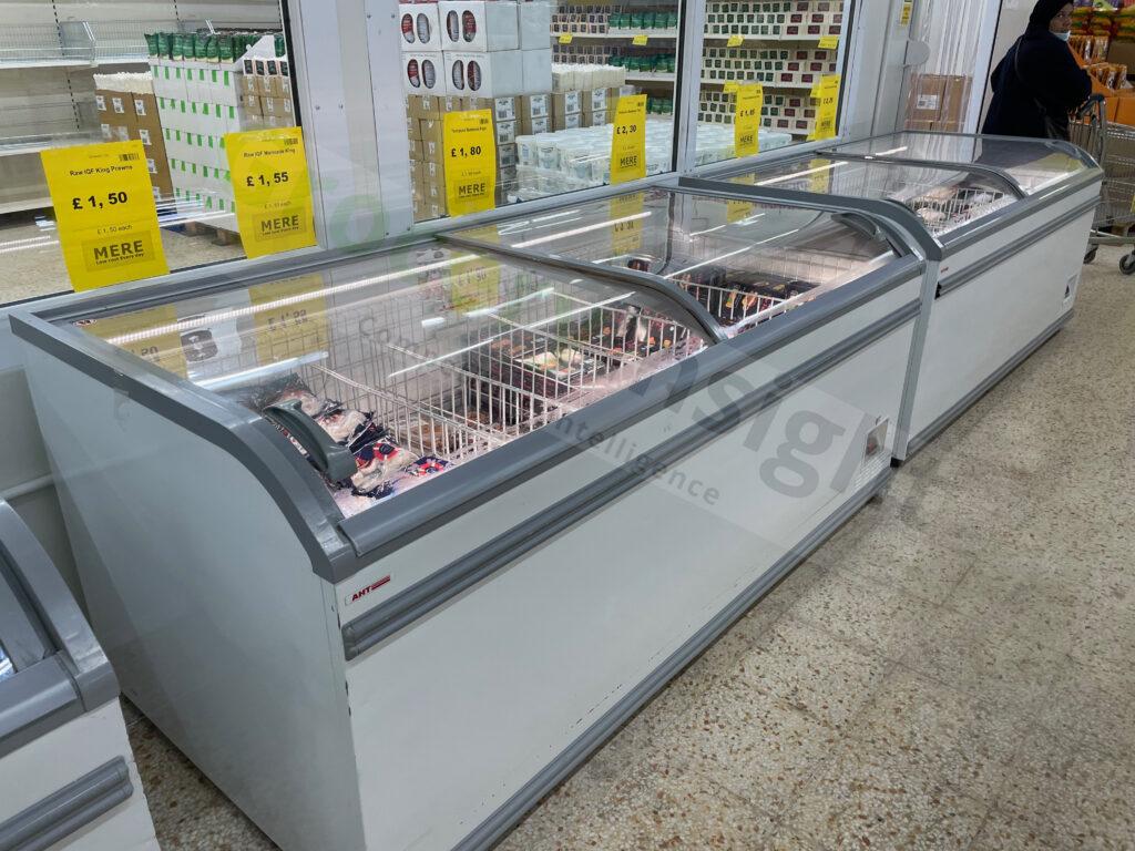 Mere store frozen department